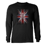 Triumph Speedmaster Art Long Sleeve Dark T-Shirt