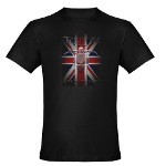 Triumph Speedmaster Art Men's Fitted T-Shirt (dark