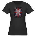 Triumph Speedmaster Art Women's Fitted T-Shirt (da