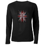 Triumph Speedmaster Art Women's Long Sleeve Dark T