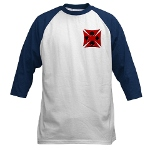 Ace Biker Iron Maltese Cross Baseball Jersey