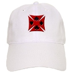 Ace Biker Iron Maltese Cross Cap