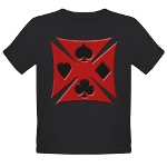 Ace Biker Iron Maltese Cross Organic Toddler T-Shi