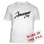 For Amusement Only Fitted T-Shirt