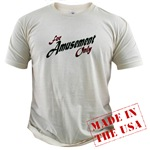 For Amusement Only Organic Cotton Tee