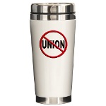 Anti-Union Ceramic Travel Mug