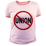 Anti-Union Jr. Ringer T-Shirt