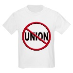 Anti-Union Kids Light T-Shirt