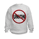 Anti-Union Kids Sweatshirt