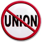 Anti-Union Large Button