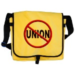 Anti-Union Messenger Bag