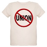 Anti-Union Organic Kids T-Shirt