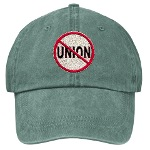 Anti-Union Stonewashed Cap