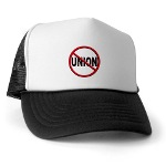 Anti-Union Trucker Hat