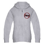 Anti-Union Women's Zip Hoodie