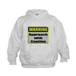 Approach With Caution Kids Hoodie