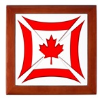 Canadian Biker Cross Tile Box