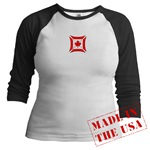 Canadian Biker Cross Jr. Raglan