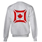 Canadian Biker Cross Sweatshirt