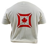 Canadian Biker Cross Organic Cotton Tee