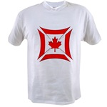 Canadian Biker Cross Value T-shirt