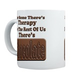 Chocolate Therapy Coffee Mug
