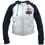 Chocolate Therapy Women's Raglan Hoodie
