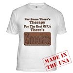 Chocolate Therapy Fitted T-Shirt