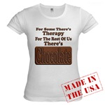 Chocolate Therapy Jr. Baby Doll T-Shirt