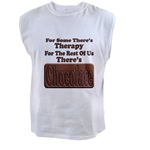 Chocolate Therapy Men's Sleeveless Tee