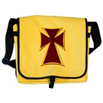 Christian Biker Cross Messenger Bag