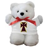 Christian Biker Cross Teddy Bear