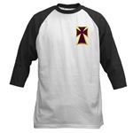 Christian Biker Cross Baseball Jersey