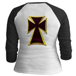 Christian Biker Cross Jr. Raglan