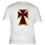 Christian Biker Cross Fitted T-Shirt