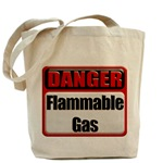 Danger: Flammable Gas Tote Bag