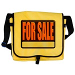 For Sale Sign Messenger Bag