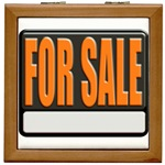 For Sale Sign Tile Box