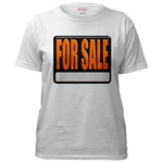 For Sale Sign Women's T-Shirt