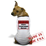 Gas Storage Area Dog T-Shirt