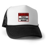 Gas Storage Area Trucker Hat