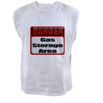 Gas Storage Area Men's Sleeveless Tee