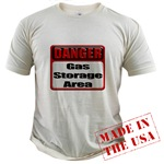 Gas Storage Area Organic Cotton Tee
