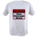 Gas Storage Area Value T-shirt