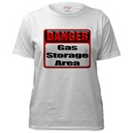 Gas Storage Area Women's T-Shirt