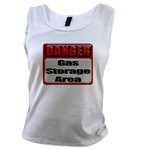 Gas Storage Area Women's Tank Top