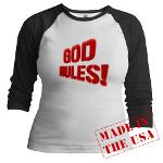 God Rules! Jr. Raglan