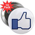 "I Like This 2.25"" Button (10 pack)"
