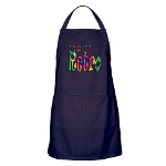 I'm Not Old, I'm Retro Apron (dark)