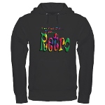 I'm Not Old, I'm Retro Hoodie (dark)